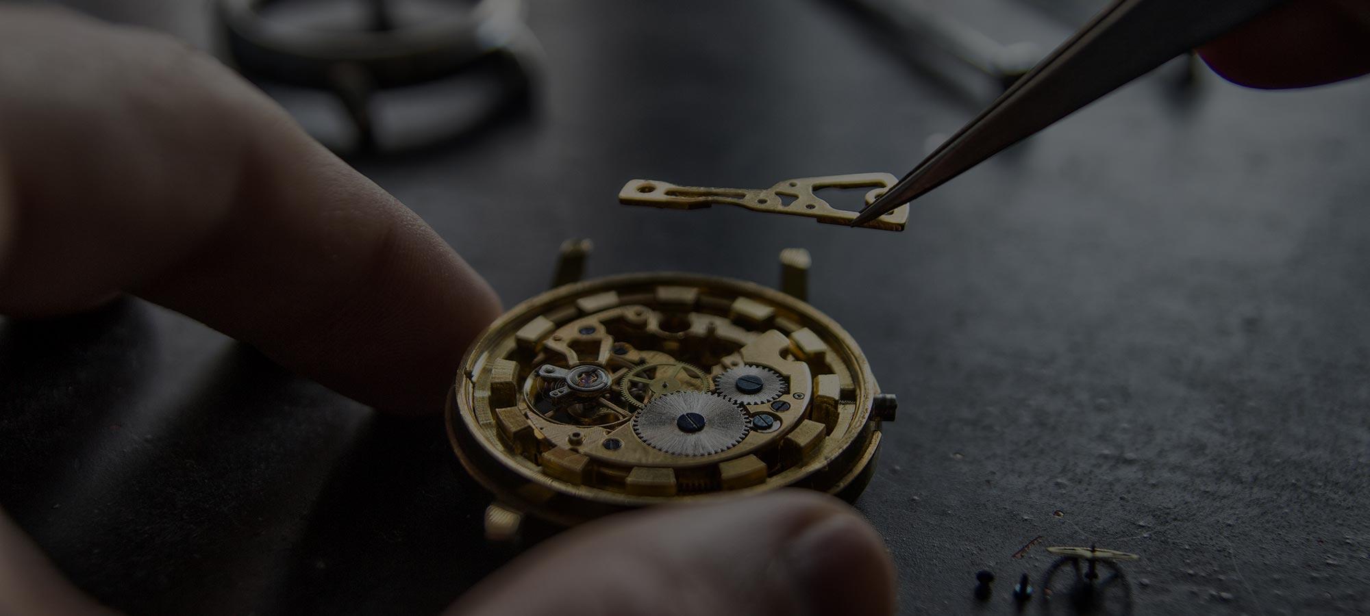L'atelier horloger Montre Mania