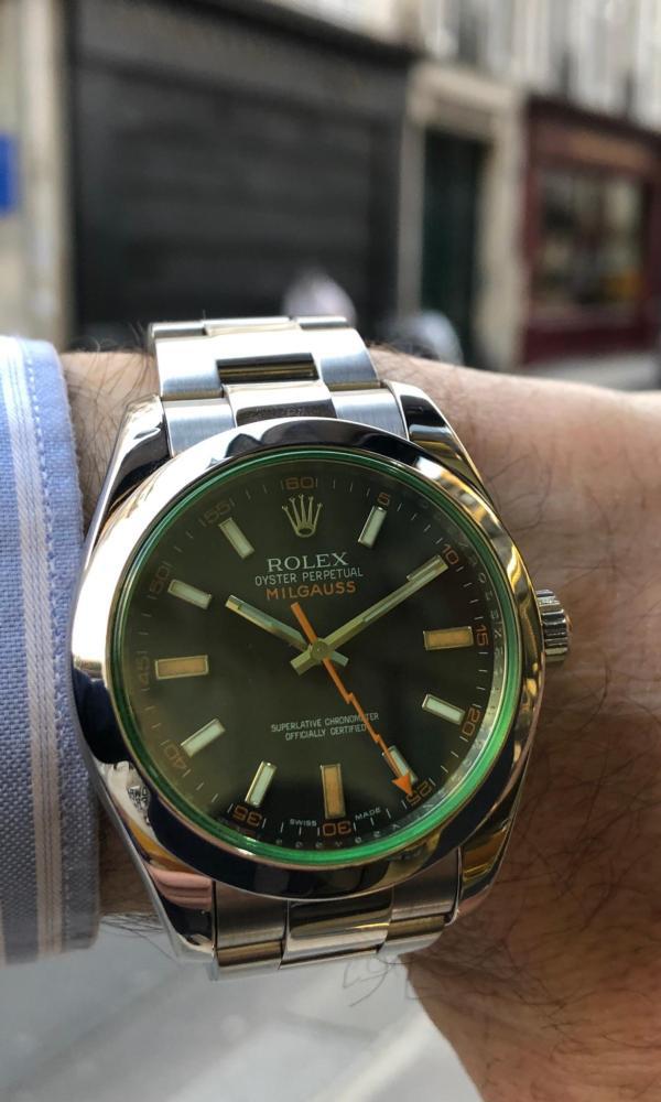 Rolex Milgauss Série V