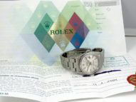 Rolex Datejust acier avec ses papiers