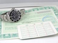 Rolex Submariner acier avec ses papiers