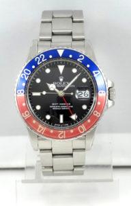 Rolex GMT 16750, acier