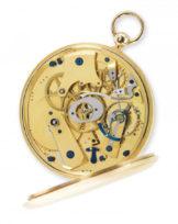 Bréguet 3862 Équation du temps, montre de poche en or jaune