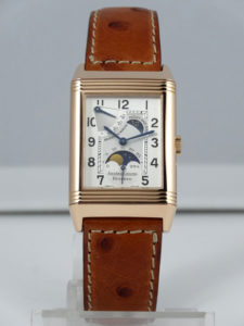 Jaeger-LeCoultre Night & Day, or jaune sur cuir