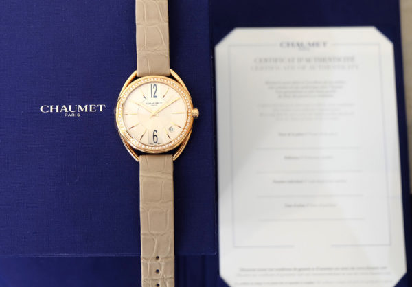 Chaumet Liens Diamants Or Rose